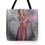 Diniel - Angel Who Protects Infants Tote Bag