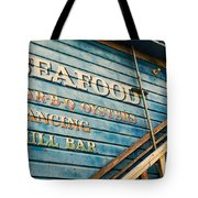 Dining And Dancing Tote Bag