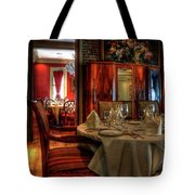 Dining At Muriel's Tote Bag