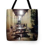 Dining At The Castle Tote Bag