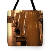 Dining Room Candles Tote Bag