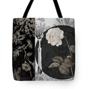 Dinner Conversation I Tote Bag by Mindy Sommers