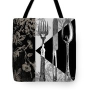 Dinner Conversation Tote Bag