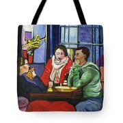 Dinner In Dam Tote Bag