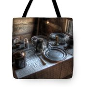 Dinner Is Served Tote Bag