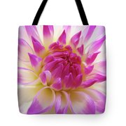 Dinner Plate Dahlia Flower Art Prints Canvas Floral Baslee Troutman Tote Bag