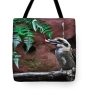 Dinner Time For Mister Bird Tote Bag