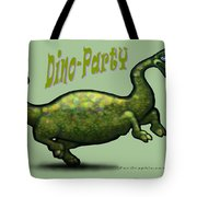 Dino Party Tote Bag