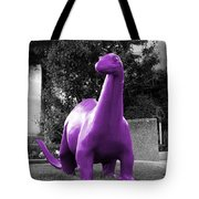Dino Selective Coloring In Ultra Violet Purple Photography By Colleen Tote Bag