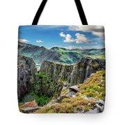 Dinorwic Slate Quarry Snowdon Tote Bag