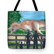 Dinosaur Country Tote Bag