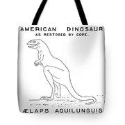 Dinosaur: Dryptosaurus Tote Bag