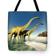 Dinosaur World Tote Bag