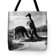 Dinosaurs: Trachodon Tote Bag