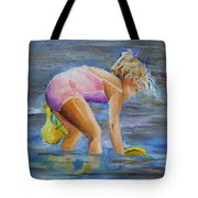 Dipping In The Great Lakes Tote Bag