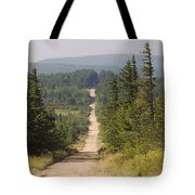 Dirt Road To Dolly Sods Tote Bag