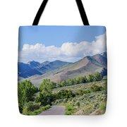 Dirt Road To Serenity Tote Bag