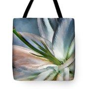 Dirty White Lily 2 Tote Bag