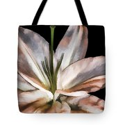 Dirty White Lily 3 Tote Bag