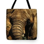 Disappearing Elephant Tote Bag
