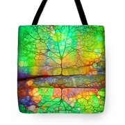 Disappearing In Colour Tote Bag