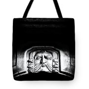 Disapproving Scowl Tote Bag