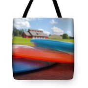 Disc Golf In Auburn Tote Bag