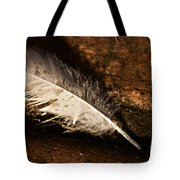 Discarded Feather Tote Bag