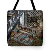 Discarded Lobster Traps Tote Bag