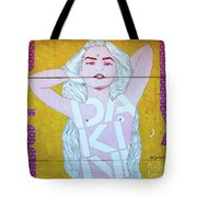 Disco Bey - Graffiti Art Tote Bag