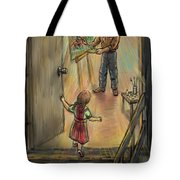 Discovering Daddy's World Tote Bag