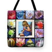 Discovering The Beuty Of The Lily Tote Bag