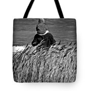 Discovery Bw Tote Bag
