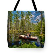 Discovery In A Cypress Swamp Tote Bag