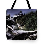Discovery Park Lighthouse Tote Bag