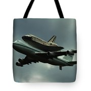 Discovery Piggyback Tote Bag