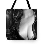 Discreet Lady 2  Tote Bag