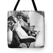 Discus Champion Bud Houser Tote Bag