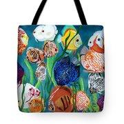 Discus Fantasy Tote Bag