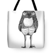 Disgruntled Owl Tote Bag