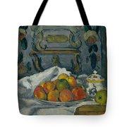 Dish Of Apples Tote Bag