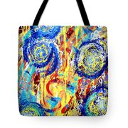 Disintegrated Element Tote Bag