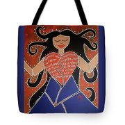 Dismembered Woman Tote Bag