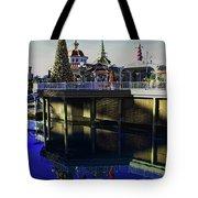 Disney Christmas Reflections Tote Bag