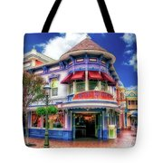 Disney Clothiers Main Street Disneyland 01 Tote Bag