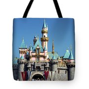 Disneyland Castle Tote Bag