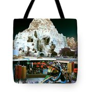 Disneyland Tomorrowland - Pop Color Tote Bag