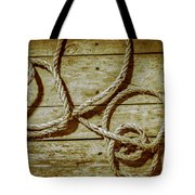 Dispatched Ropes And Voyages Tote Bag