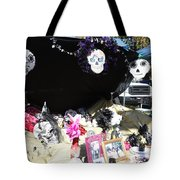 Display Trunk Car Day Dead  Tote Bag
