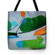 Dissected Flower Tote Bag